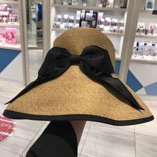 紫外线防晒帽 沙滩帽 遮阳帽 草帽 日本SHUKIKU抗UV