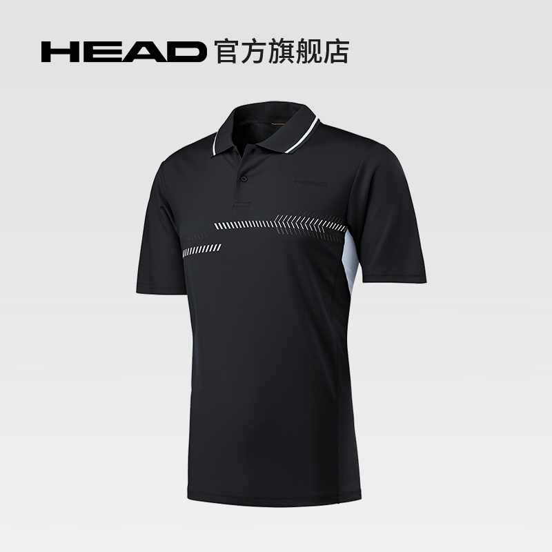 HEAD海德 舒适透气网球服POLO衫 CLUB TECHNICAL POLO SHIRT