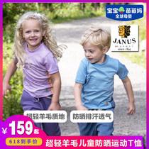 恤户外透气速干上衣薄款T新款中大童运动快干2019恤T女童夏季短袖