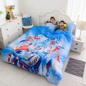 男孩超人赛罗奥特曼床单纯棉四件套1.8儿童床品1米2卡通三件套1.5图片