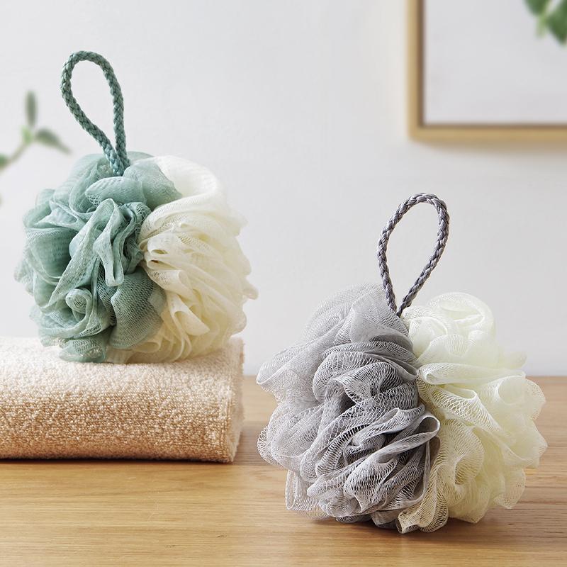 创意沐浴球大号成人日式洗澡棉球擦浴室搓背搓澡巾浴泡泡球浴花