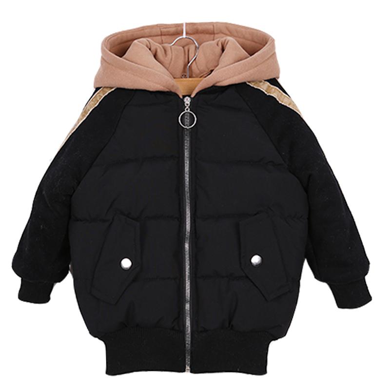女童冬装韩版洋气外套短款棉衣棉袄2017新儿童小女孩加厚面包服潮