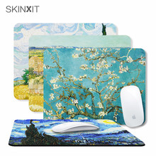 skinxit艺术创意鼠标垫 4mm超厚超软 办公游戏高端鼠标垫插画梵高
