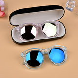 Children's glasses 2-10 years old sunglasses boys and girls sunglasses anti-UV glasses baby sunglasses