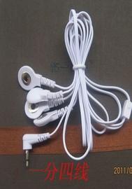 家用多功能数码经络理疗/经络仪电子针灸按摩仪器 配件导线 1拖4图片