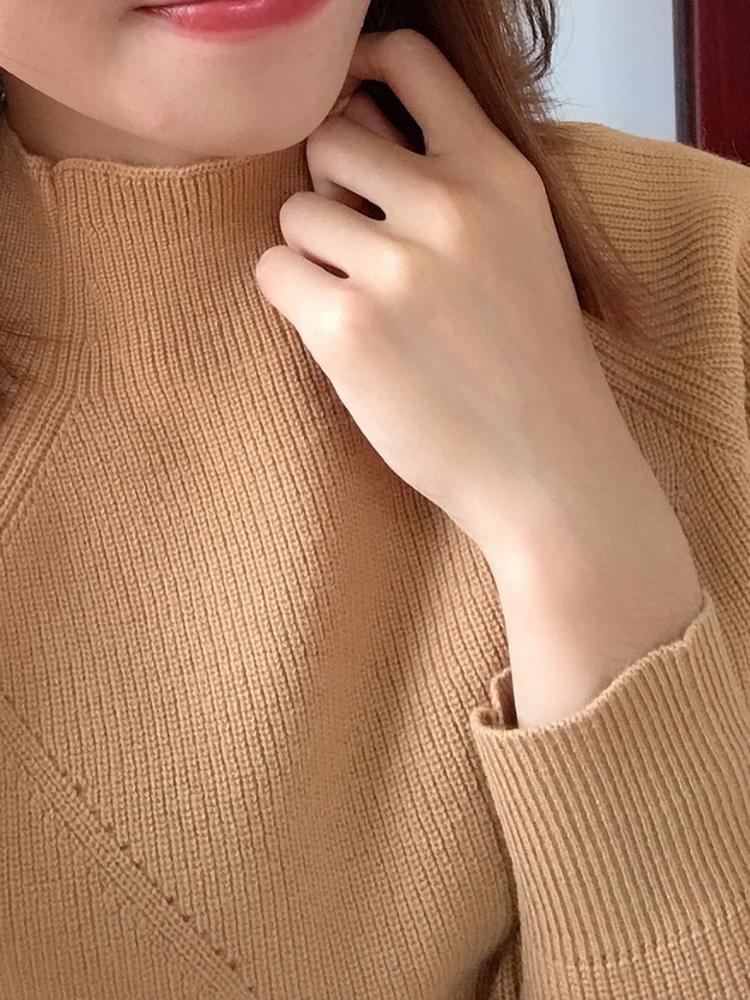 希哥弟思媞女装2019春秋装新款官网正版套头针织衫羊毛打底毛衣女