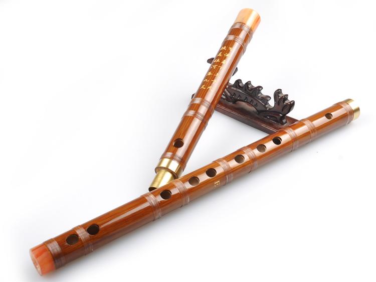 初学入门乐器 精制专业演奏 调 f 调 g 竹笛子横笛苦竹学生笛子