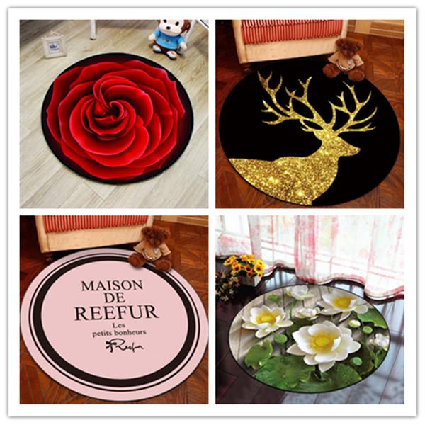 3地玫瑰花地毯