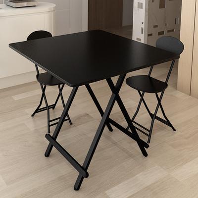 折叠桌餐桌家用小户型简约小桌子便携式吃饭桌简易户外可摆摊方桌