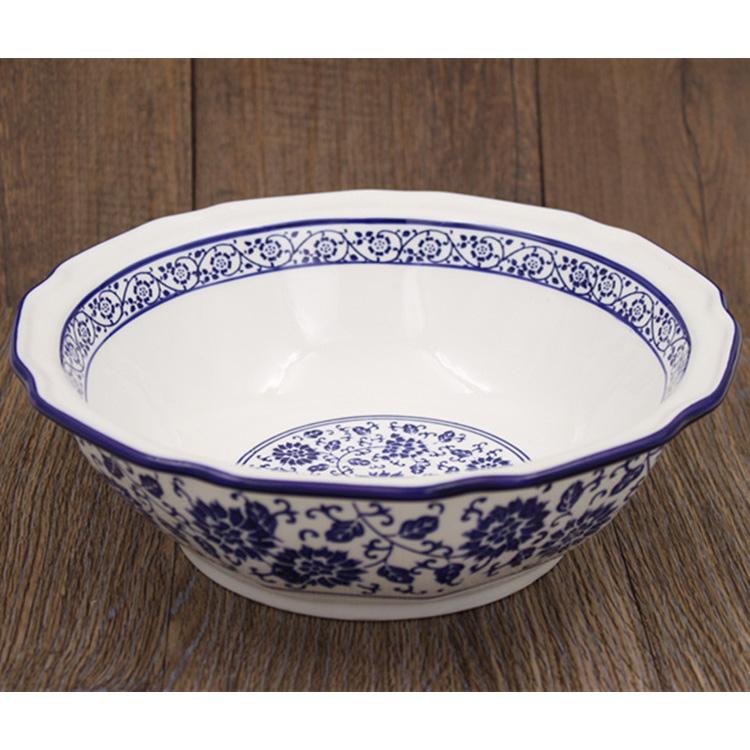 仿陶瓷菜盆