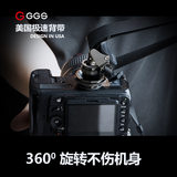Camera strap fast gunner micro single single single single re-shoulder strap decompression belt widening oblique fast-loading fast-removable high-end SLR