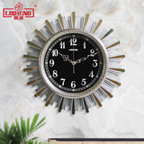 LiSheng hanging clock modern simple living room silent creative clock light luxury personality family bedroom atmospheric quartz clock