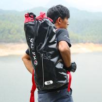 欣达2019款户外攀岩绳包绳索收纳双肩包户外速降背包装备包登山包