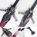 Devil May Cry Weapon Ding Jian Rebellious Blade 1:1 Metal COSPLAY Peripheral Model Props Unopened