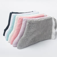 Moon socks summer thin section cotton postpartum maternity socks spring and autumn loose mouth sweat-absorbent breathable feet in stockings