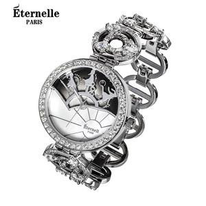 法国Eternelle时尚配饰品 欧美风女士时尚腕表 石英表时装手表