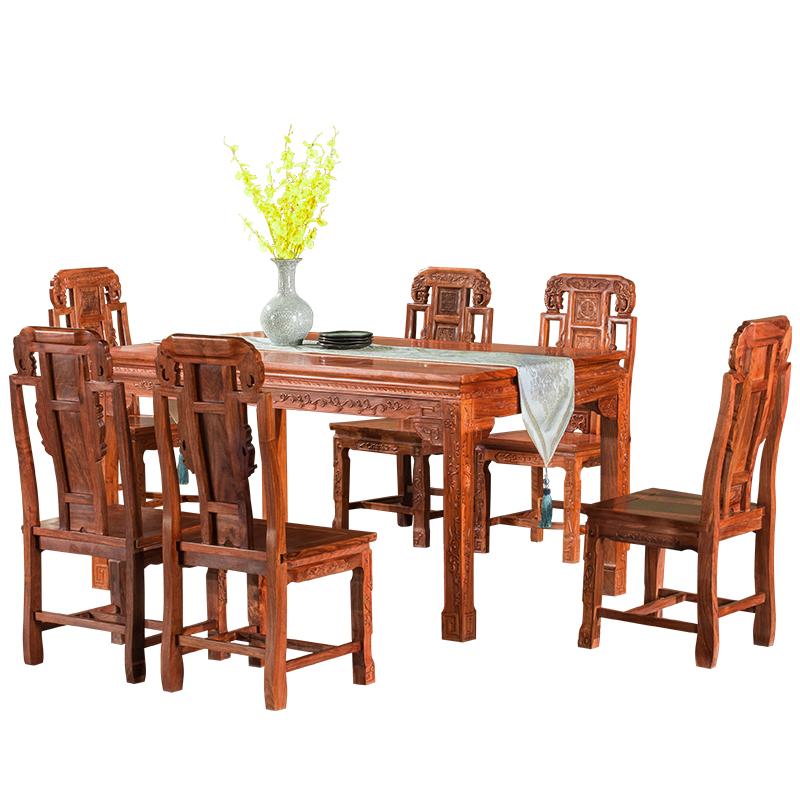 古味居中式饭桌Q1