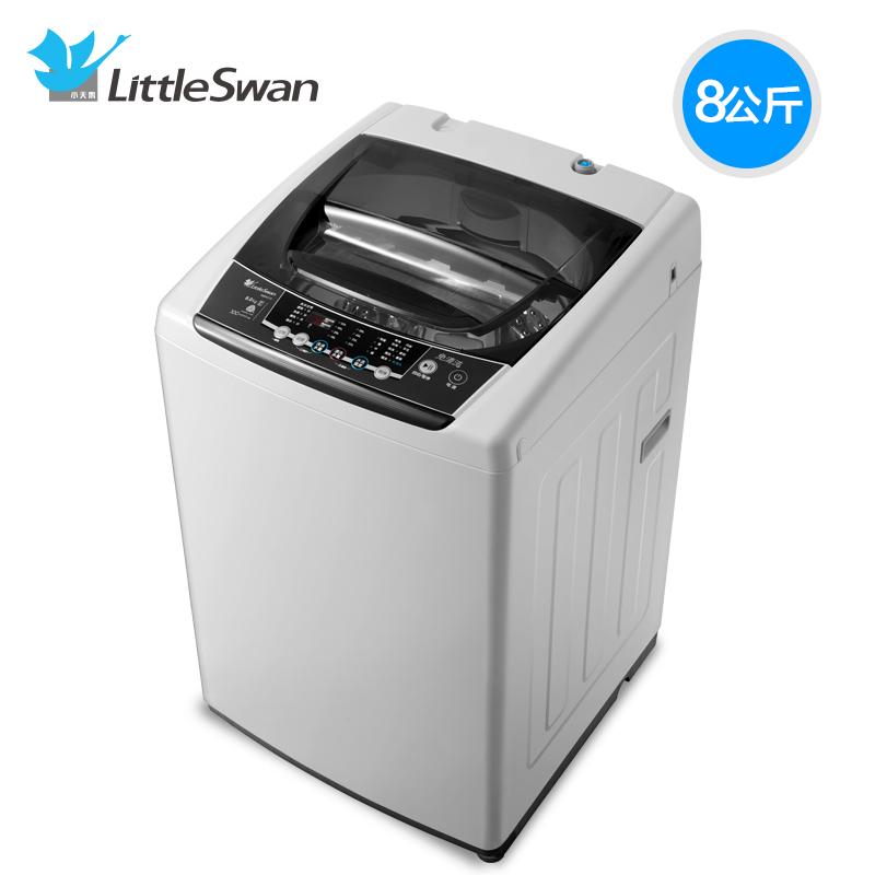 小天鹅8公斤变频洗衣机tb80v21d