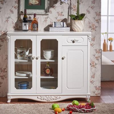 餐边柜储物柜茶水柜白色使用感受