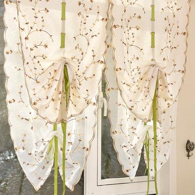 窗帘罗马装饰