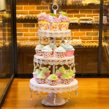 婚礼甜品台点心架蛋糕架子婚庆多层饼干水果甜点糕点展示托盘包邮