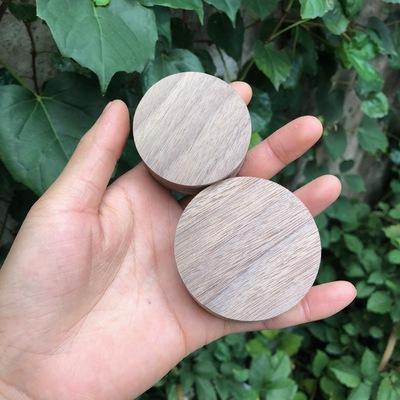 清仓处理一批美国黑胡桃木圆饼圆片木料原料手作原木料