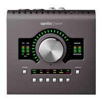 Second generation UA ​​Apollo Twin UAD SOLO DUO QUAD MK2 lightning recording sound card audio interface