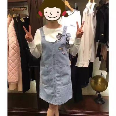 背小熊连衣裙