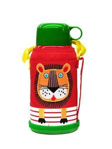 tiger虎牌儿童保温杯可爱小学生MBJ-C06C宝宝水杯老虎小狮子600ML