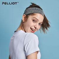 Pelliot and sports hair band men and women headband antiperspirant belt fitness yoga running sweat guide sports scarf sweat band