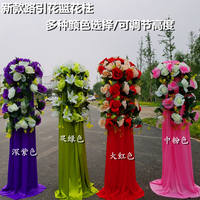 Wedding props road lead lifting guide flower basket flower stand shop celebration festival opening arch road lead wrought iron shelf finished products