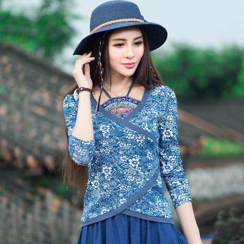 民族风女装秋装中国风