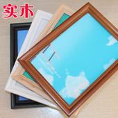 欧式守鞠嗫虼匆567810121620寸A4单个A3拼图相片框画框摆台挂墙