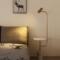 后现代客厅简约立式创意大理石北欧设计师遥控卧室床头茶几落地灯