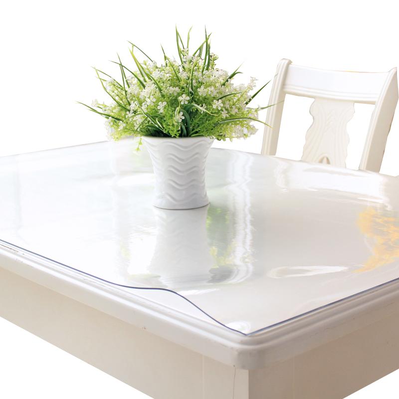 桌布防水防烫防油免洗透明软玻璃PVC胶垫水晶板塑料茶几垫餐桌垫