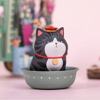 Genuine Wu Huang Wan sleep blind box Bazaar black blind box 52toys fun box egg cute trend doll creative gift