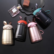 Electroplating rabbit rabbit portable with insulated cup 304 stainless steel cool cup