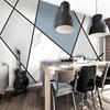 电视墙壁纸 几何图案