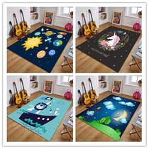 Chambre tapis salon princesse poudre chambre chevet rampants mat maternelle cute cartoon anime enfants peut être lavable en machine