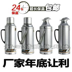 特厚不锈钢热水瓶外壳家用暖水瓶玻璃内胆保温瓶暖水瓶暖壶包邮