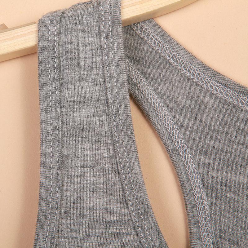 北极绒女士吊带背心女短款性感夏季外穿内搭黑白色莫代尔chic打底