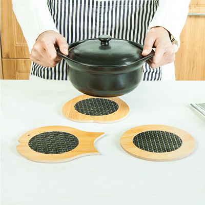 隔热垫菜垫子餐桌垫杯垫碗防烫锅垫盘子竹垫家用餐垫防热耐热碗垫