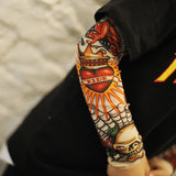 Children's Sleeve Tattoo Sleeve Hip-hop Tide Sleeve Sunscreen Summer Mosquito Sleeve Tattoo Arm Sleeve