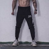 2019 new side striped elastic sweatpants speed dry fitness pants small foot casual pants pants training pants men's summer