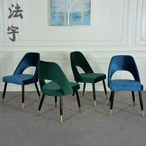 洽谈椅子现代简约餐椅休闲大人靠背椅学生书房书桌椅塑料咖啡椅凳