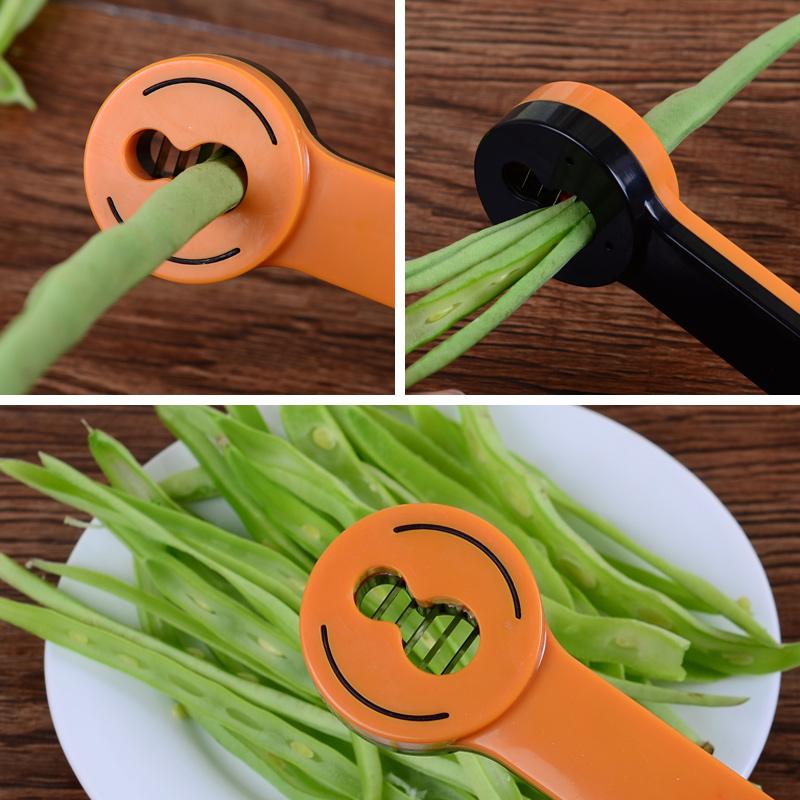 豆角切丝器家用多功能切菜器四季豆荷兰豆切丝神器刨丝厨房小工具