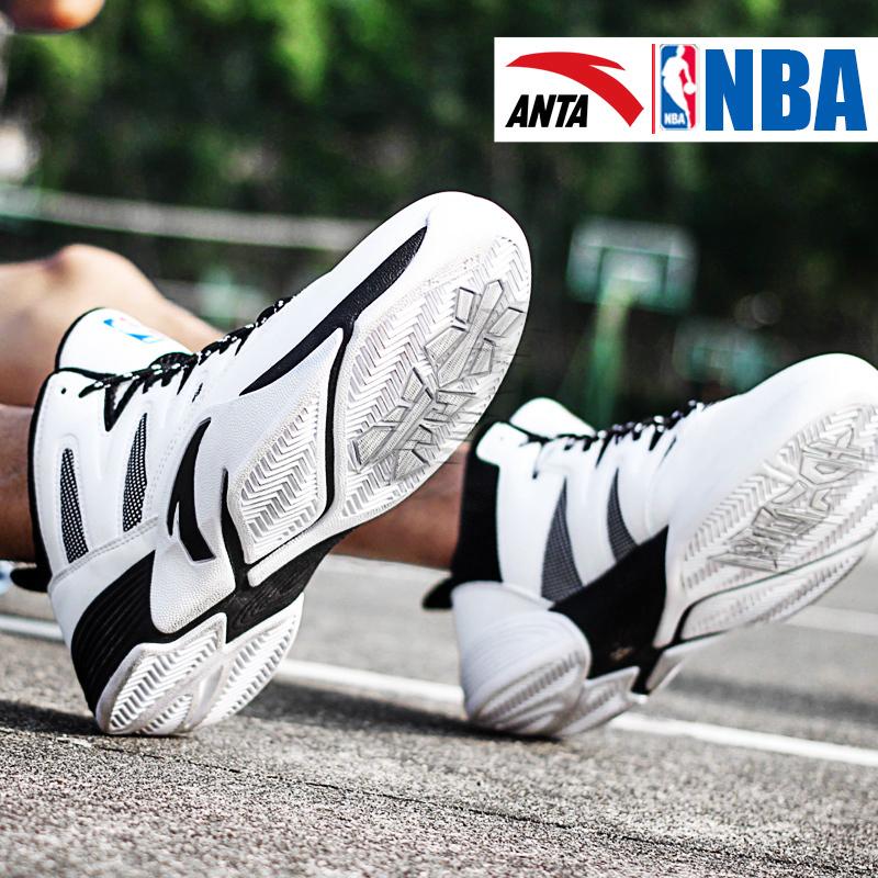 NBA安踏篮球鞋男鞋正品2018秋季新款水泥杀手克星耐磨战靴运动鞋
