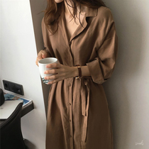 qp43女外套新款显瘦拼接撞色中长款风衣PU休闲chic韩风百搭