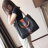 子母包包女2017上新款2018韩版百搭手提包大容量单肩包斜挎大女包