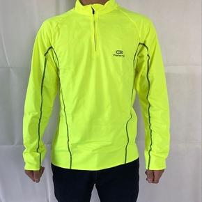 迪卡侬KALENJI秋冬成人男士跑步服装保暖套头衫运动卫衣加绒立领